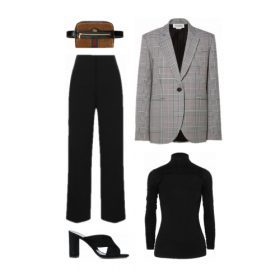 How to style this season's It Jacket: check blazer
