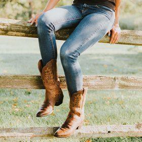 Women's Cowboy & Biker Boots