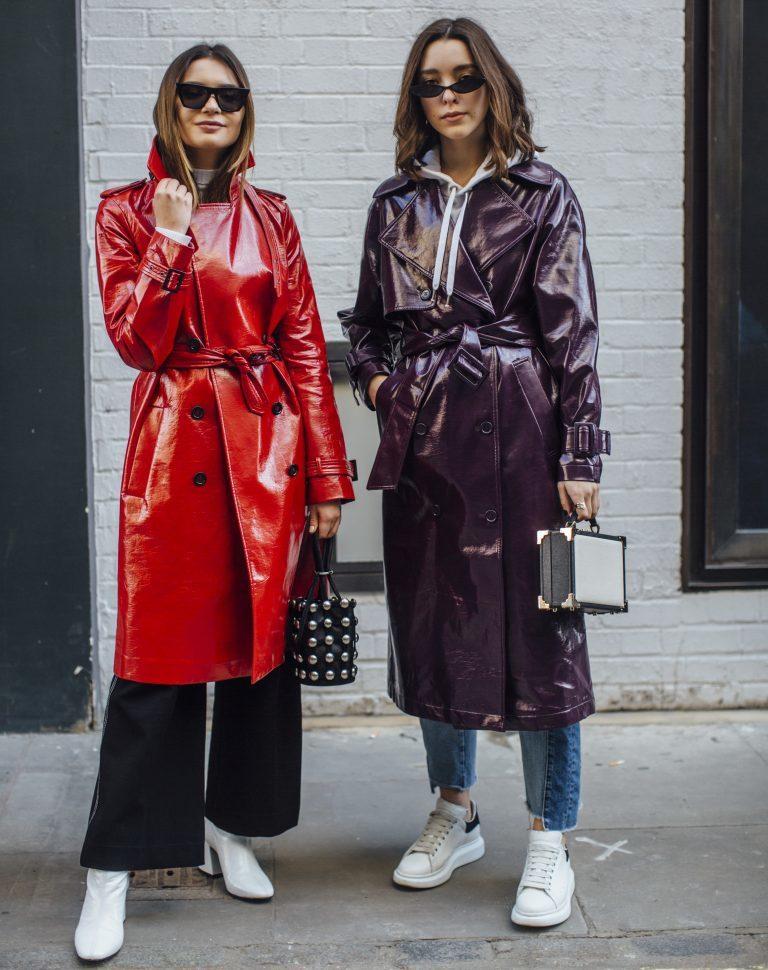 London Fashion Week: Womens Trench Coat