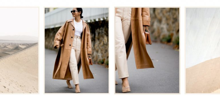 how to wear beige