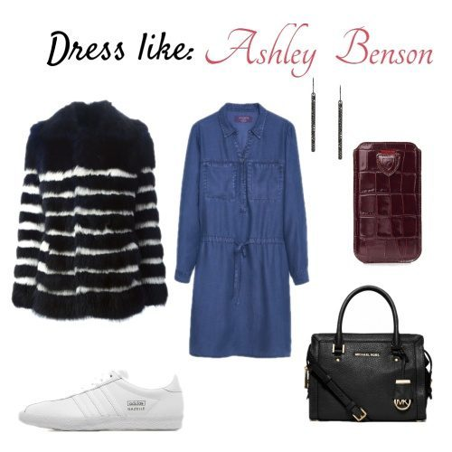 Celebrity Sighting: Ashley Benson aka Hanna Marin