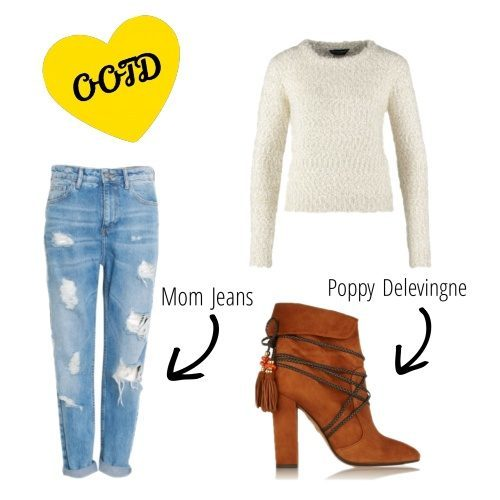Styling guide: mom jeans outfit a la Bella Hadid
