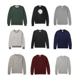 Warm Winter Knits with Mr Porter