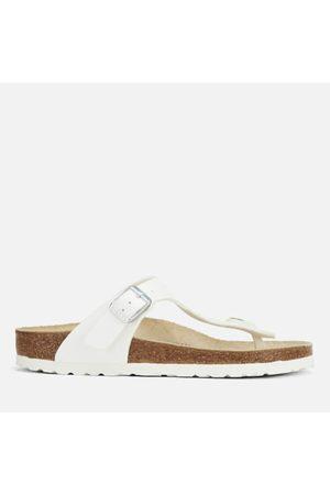 Birkenstock Women Sandals - Women's Gizeh Toe-Post Leather Sandals