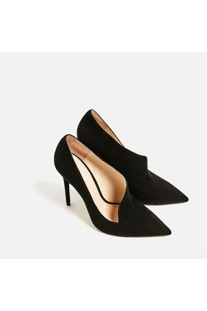 Asymmetric High Leather High Shoes Leather Asymmetric Heel Heel srdCBthQxo