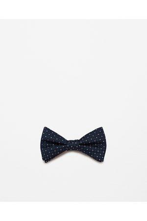 Men Bow Ties - Zara PATTERNED BOW TIE