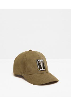 Men Caps - Zara TRIBAL PATCH CAP