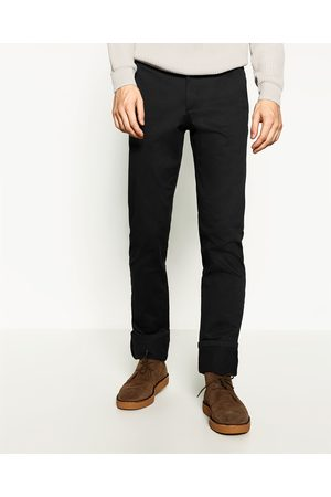 Men Chinos - Zara SLIM CHINO TROUSERS - Available in more colours