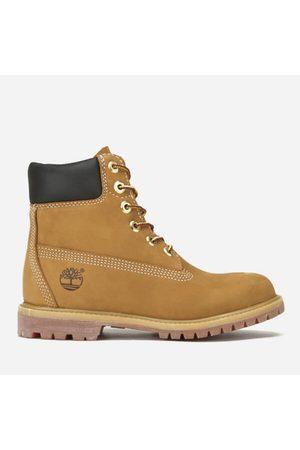 Timberland Women's 6 Inch Nubuck Premium Boots