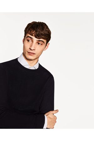 Men Jumpers & Sweaters - Zara BASIC SWEATER - Available in more colours