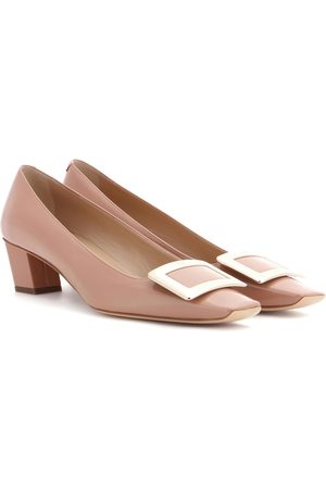 Roger Vivier Belle Vivier patent leather pumps