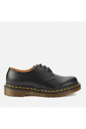 Women Heels - Dr. Martens Originals 1461 3-Eye Smooth Leather Gibson Shoes