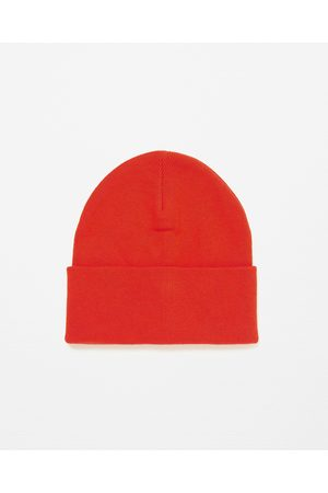 Men Hats - Zara KNIT HAT