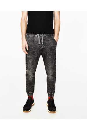 Men Chinos - Zara CHINO JOGGERS - Available in more colours