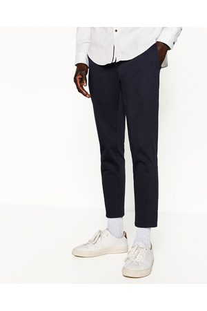 Men Chinos - Zara CROPPED CHINOS - Available in more colours