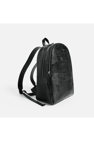 "Men Laptop & Business Bags - Zara REPTILE-EFFECT BACKPACK FOR 13"" LAPTOP - Available in more colours"