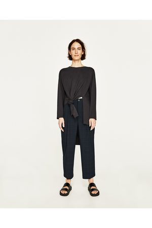 2c07523e5f1f Women Tops - Zara ASYMMETRIC TOP WITH VENTS - Available in more colours