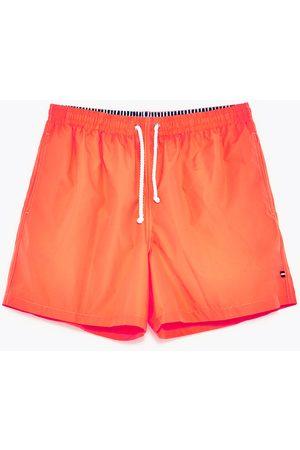 Men Swimwear - Zara BASIC SWIMWEAR