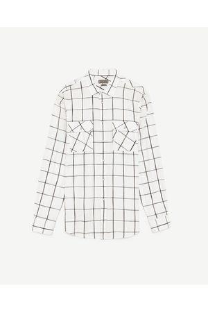 Men Shirts - Zara CHECK SHIRT