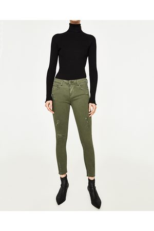 2ed6fe97cf Zara ripped women's jeans, compare prices and buy online