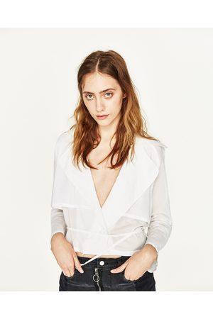 Women Trench Coats - Zara TRENCH COAT TOP