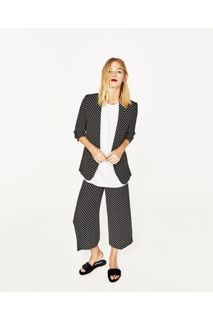 bd5cc19f Zara polka dot women's culottes, compare prices and buy online