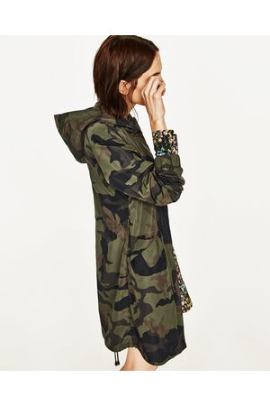 4a07a285e5a94 Zara replay-print women's coats & jackets, compare prices and buy online