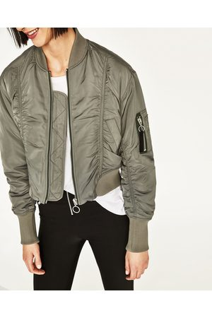 Zara Collection Cropped Women S Bomber Jackets Compare Prices And