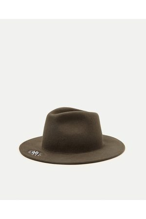 Men Hats - Zara TRIBAL EMBROIDERY HAT