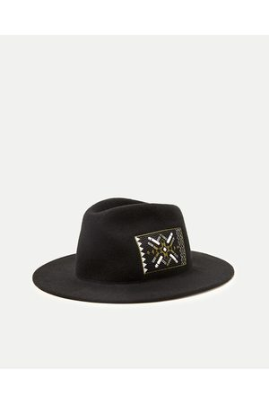 Men Hats - Zara TRIBAL PATCH HAT