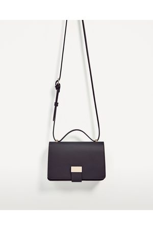 Women Shoulder Bags - Zara TWO-TONE CROSSBODY BAG - Available in more colours