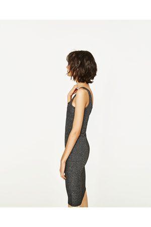 Women Midi Dresses - Zara SHINY MIDI DRESS