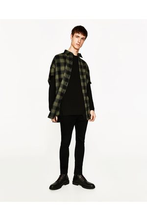 Men Casual - Zara OVERSIZED CHECK SHIRT - Available in more colours