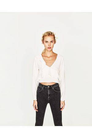 4799bb248e5df Zara trendy t shirts women s crop tops