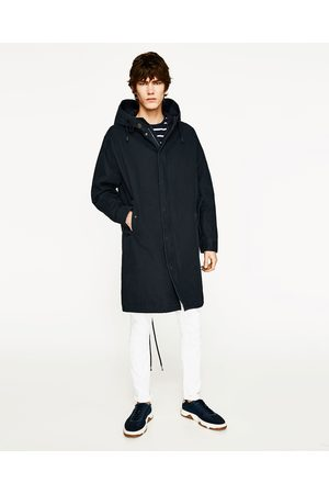 Men Parkas - Zara HOODED PARKA - Available in more colours