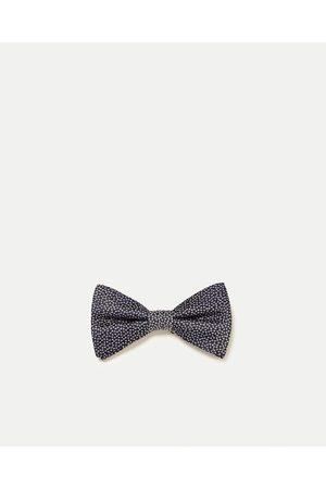 Men Bow Ties - Zara FLORAL BOW TIE