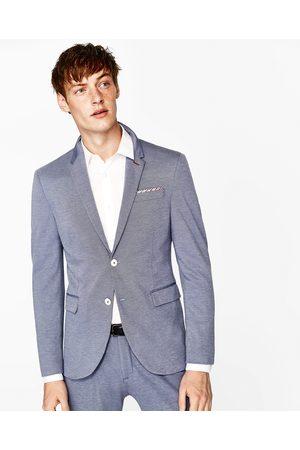Men Blazers - Zara COMFORT SUIT BLAZER - Available in more colours