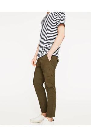 Men Cargo Trousers - Zara CARGO TROUSERS - Available in more colours