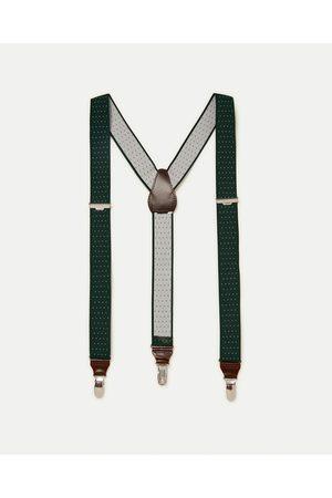 Men Braces - Zara POLKA DOT BRACES - Available in more colours