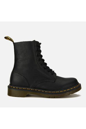 Women Boots - Dr. Martens Women's Core Pascal 8-Eye Virginia Leather Boots