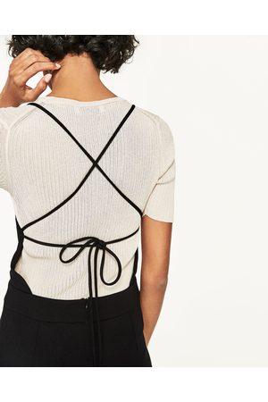 Women Jumpsuits & Playsuits - Zara BACKLESS JUMPSUIT