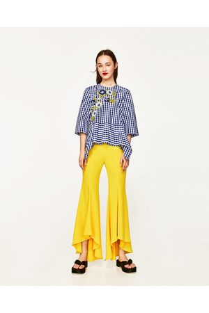 7fb846cc Zara more colours women's wide leg trousers, compare prices and buy online
