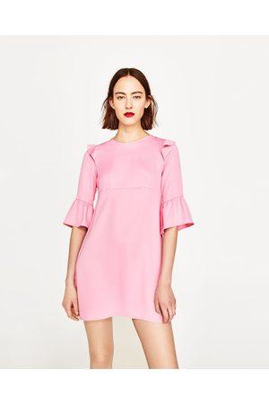 acf2b1133b2 Women Dresses - Zara FRILLED DRESS