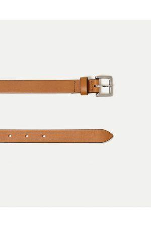 Men Belts - Zara STUDIO COLLECTION BELT