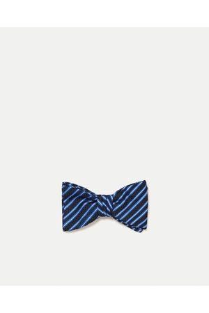 Men Bow Ties - Zara STRIPED BOW TIE