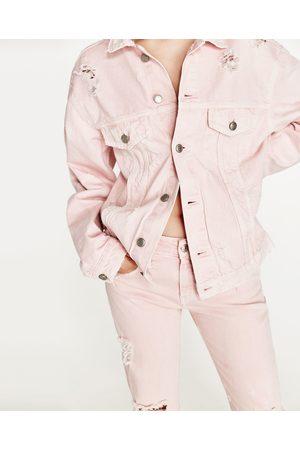 Women Denim Jackets - Zara DENIM JACKET