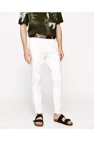Men Chinos - Zara RIPPED CHINOS - Available in more colours