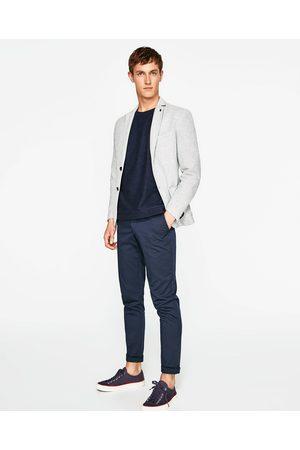 Men Blazers - Zara SMOCKED BLAZER - Available in more colours