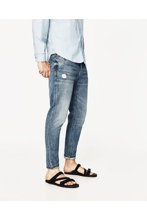 Men Tapered - Zara CROPPED TAPERED JEANS