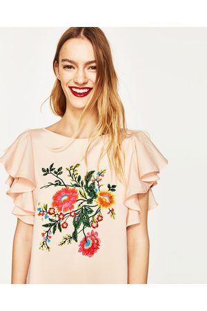 Zara Embroidered Women S Printed Dresses Compare Prices And Buy Online